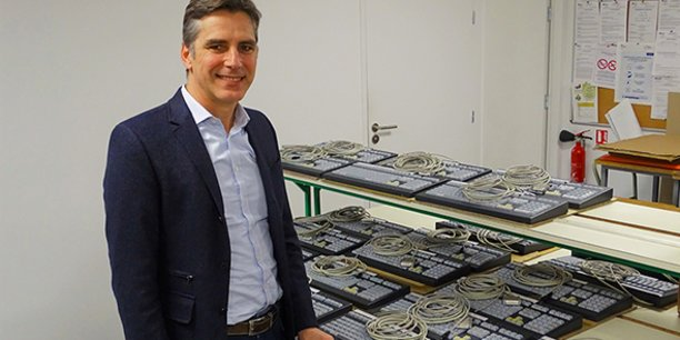 Arnaud de Pauliny, le nouveau dirigeant de Niconix, a lancé une étude avec le laboratoire nîmois Hygiacare Conseil pour évaluer précisément les dangers des postes informatiques partagés, véritables nids microbiens.