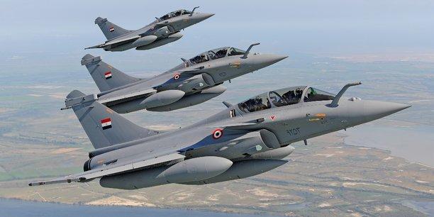 La Grèce souhaite disposer de 24 exemplaires de l'avion de combat Rafale.