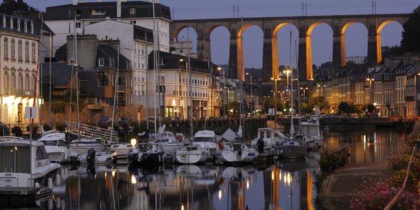 Morlaix fait partie, comme Quimperlé ou Combourg, des villes moyennes et des bassins ruraux bretons qui connaissent un regain d'attractivité.