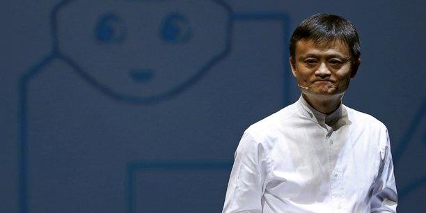 Jack ma effectue une rare visite au siege d'alibaba a hangzhou[reuters.com]