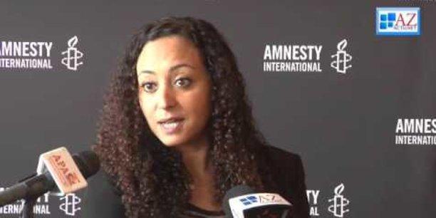 Samira Daoud, directrice régionale d'Amnesty International pour l'Afrique de l'Ouest et l'Afrique centrale.
