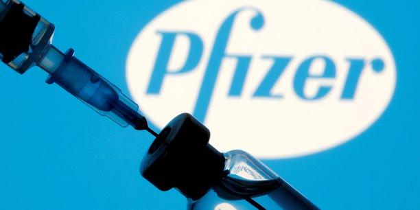 Pfizer est a suivre a la bourse de new york[reuters.com]