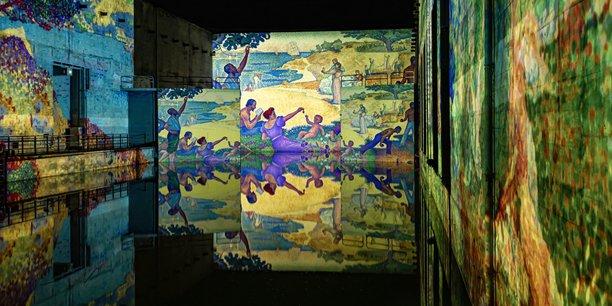 Les Bassins de lumières, à Bordeaux, proposeront dès le 19 mai une exposition sur des œuvres de Monet, Renoir ou encore Chagall.
