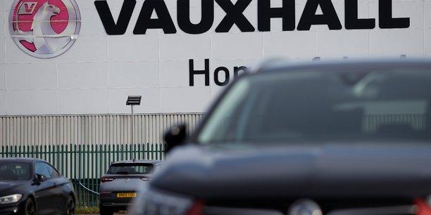 Grande-bretagnee: tavares satisfait des discussions sur l'avenir de l'usine vauxhall[reuters.com]