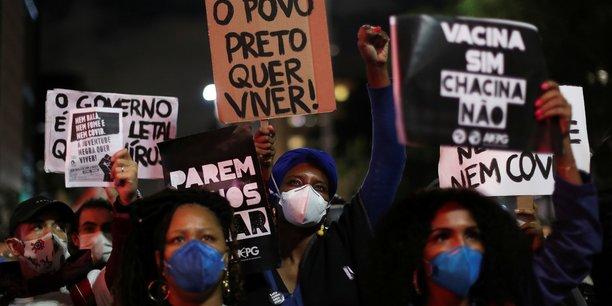 Bresil: manifestations contre le racisme et les violences policieres[reuters.com]