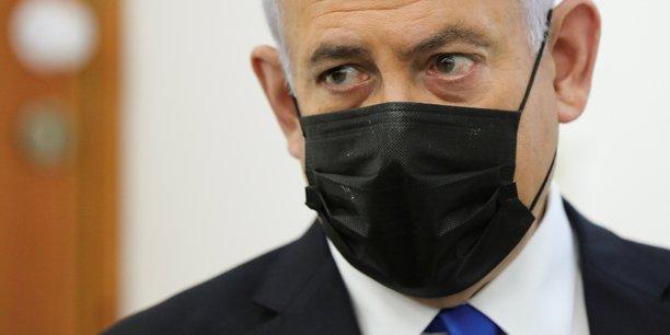 Le conflit israelo-palestinien, bouee de sauvetage politique pour netanyahu[reuters.com]