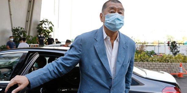 Hong kong gele les avoirs du patron de presse jimmy lai[reuters.com]