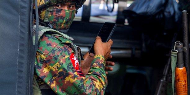 Birmanie: affrontements entre l'armee et des opposants dans la ville de mindat[reuters.com]