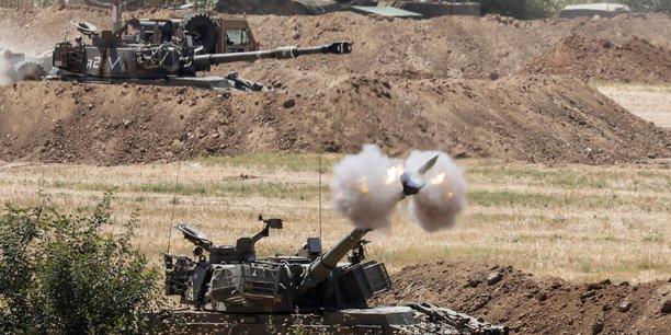 L'offensive d'israel dans la bande de gaza continuera aussi longtemps que necessaire, previent netanyahou[reuters.com]
