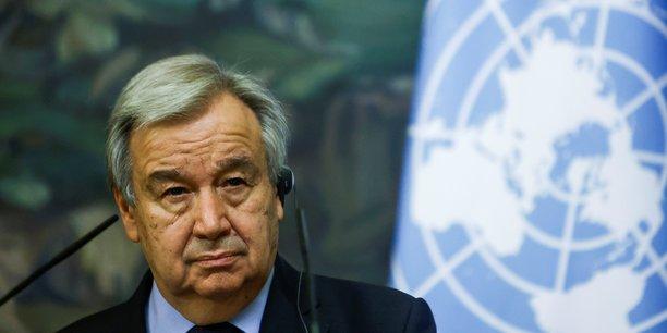 Israel/gaza: le secretaire general des nations unies appelle a un arret immediat des violences[reuters.com]