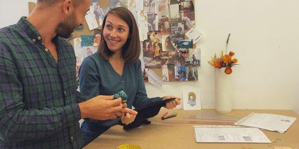 Matthieu Jungfer et Violette Dedeban, cofondateurs de L'Atelier Unes