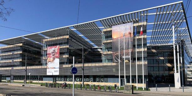 Le siège du Conseil régional à Strasbourg.
