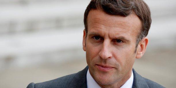 Macron annonce le maintien de la chaine publique france 4[reuters.com]