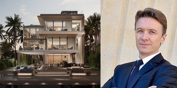 Nicolas Chambon, président du groupe Socri Reim à Montpellier, accélère sur sa nouvelle activité de villas de luxe à Miami.