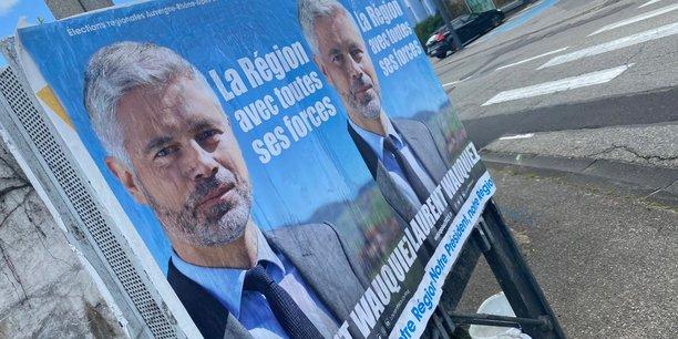 Un nouveau sondage Ifop-Fiducial-Lyon Capitale, publié ce mardi, créditait à nouveau Laurent Wauquiez de 36 % des intentions de vote au premier tour, et de 38% au second.