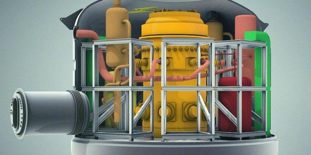 Nuward, le projet de SMR à la française, porté par EDF, TechnicAtome, Naval Group et le CEA.
