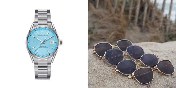 A base de déchets et d'aciers recyclées ou d'anciennes montures de lunettes, les montres et lunettes de Tempo Watches et Lunel Vintage veulent réduire la consommation de matières premières.