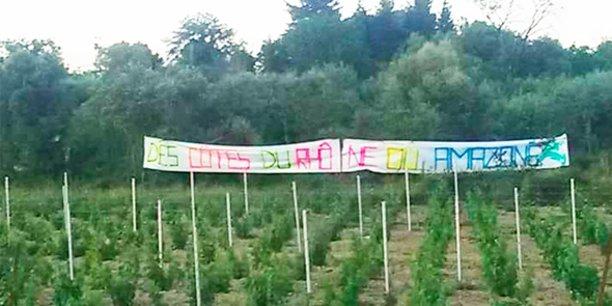 Une nouvelle manifestation pour protester contre l'installation d'un entrepôt Amazon dans le Gard aura lieu ce samedi 29 mai.