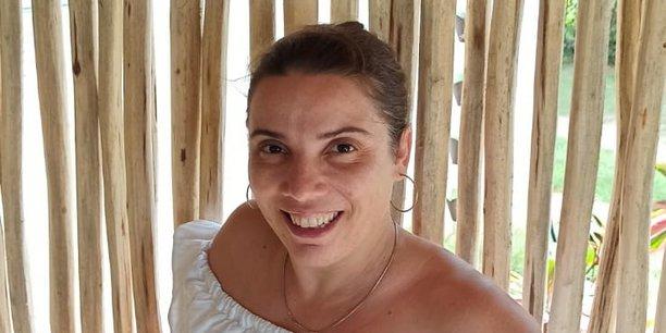 Gérante d'une auberge en République dominicaine, la Béarnaise Marie Bordenave accueille une nouvelle clientèle de télétravailleurs français.
