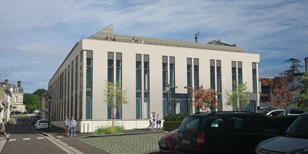 Le futur studio de Superprod à Angoulême permettra de regrouper les équipes déjà présentes dans la ville et d'accueillir de nouveaux talents pour passer de 180 à 300.