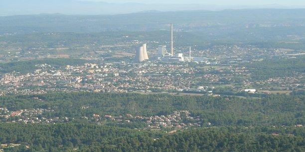 La centrale Provence de GazelEnergie, à Gardanne