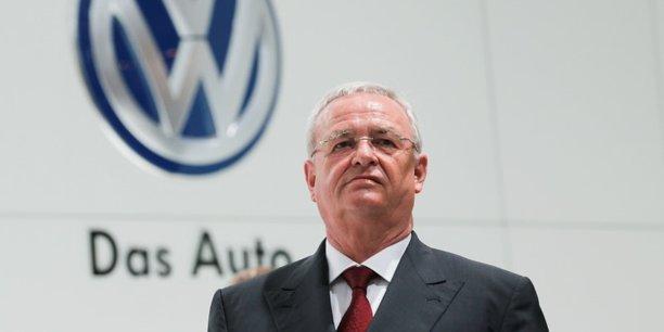 Martin Winterkorn, l'ancien dirigeant de Volkswagen.