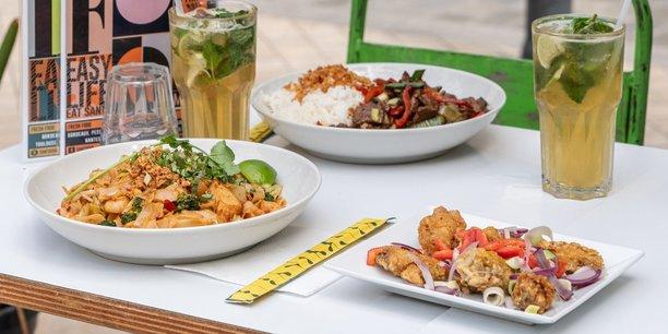 Le restaurant Le Santosha, cantine asiatique, s'est lancé dans un plan de croissance au niveau national.
