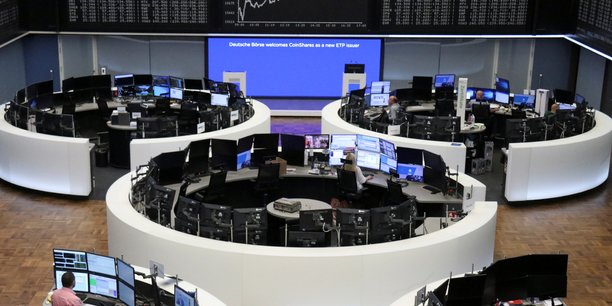 Les marchés financiers plutôt sereins après l'inflation américaine et la BCE.