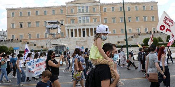 Greve et manifestation en grece contre un projet de reforme du travail[reuters.com]