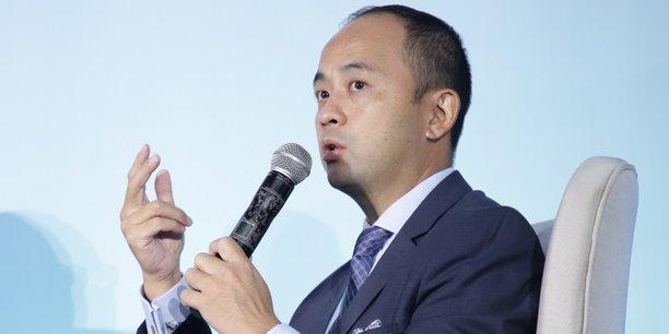 Philippe Wang, vice-président exécutif de Huawei Northern Africa, lors de sa participation à la plénière d'ouverture du Cyber Africa Forum qui s'est tenu le 7 juin dans la métropole ivoirienne Abidjan.