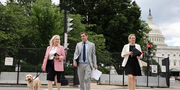 Usa: un groupe bipartite de senateurs avance sur le plan d'infrastructures[reuters.com]