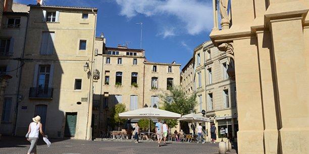 Dans le quartier ancien de l'Ecusson, à Montpellier, les meublés touristiques loués sur des plateformes comme Airbnb (plus de 5.000) font concurrence à l'hôtellerie traditionnelle (4.566 chambres).