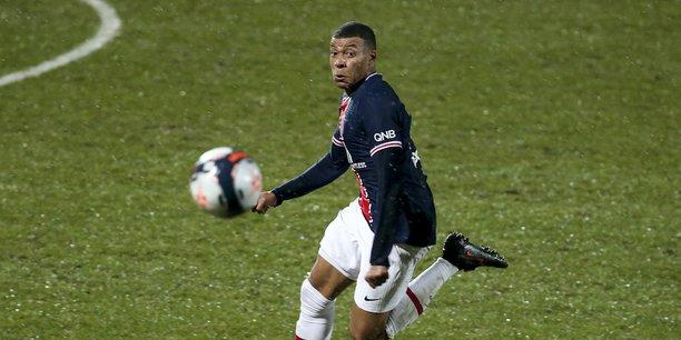 Kylian Mbappé, la star du PSG et de la Ligue 1.