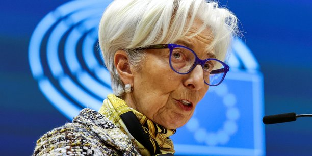 Ecb president lagarde attends a plenary session at the european parliament in brussels[reuters.com]