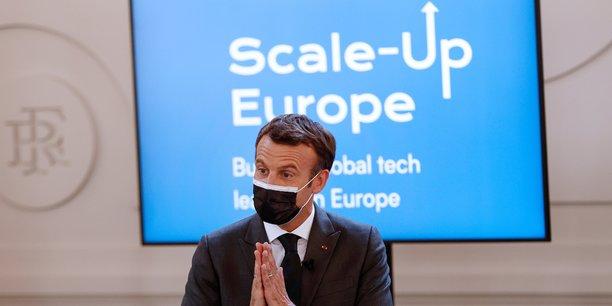 Macron souhaite la creation de 10 geants europeens de la tech d'ici 2030[reuters.com]