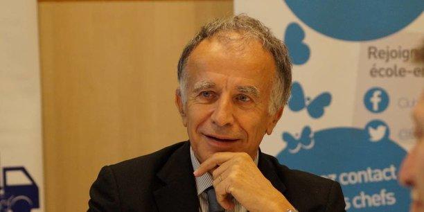 Patrice Pennel, président du MEDEF Hauts-de-France.
