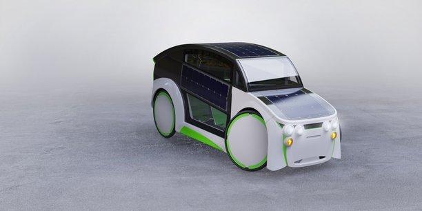 Le véhicule élaboré par la startup charentaise Midipile se pose à la croisée du vélo et de la voiture individuelle.