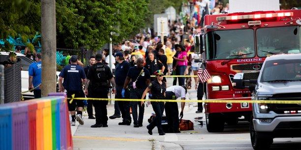 Usa: une camionnette fonce dans une marche des fiertes, un mort[reuters.com]