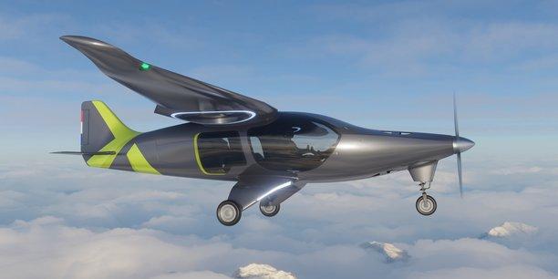 Au-delà de développer un système de motorisation hybride, Ascendance Flight Technologies développe son propre aéronef à Toulouse.