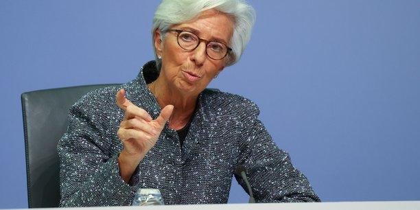 Lagarde (bce) evoque un risque a la hausse pour la croissance[reuters.com]