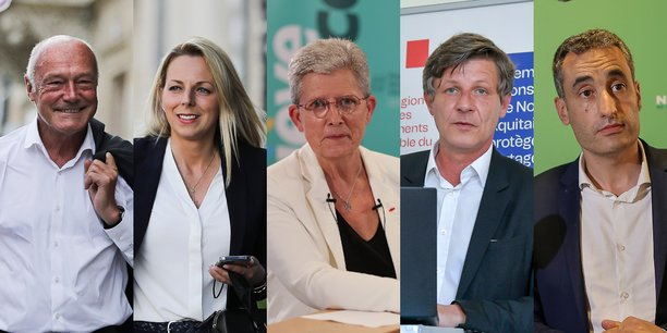A moins de 24h du dépôt officiel des listes pour le second tour des élections régionales en Nouvelle-Aquitaine, cinq listes ont confirmé leur intention d'y participer : Alain Rousset, Edwige Diaz, Geneviève Darrieussecq, Nicolas Florian et Nicolas Thierry.