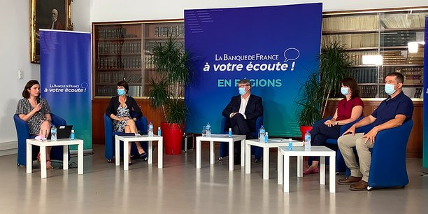 La Banque de France organise un tour de France afin d'échanger sur la politique monétaire entre la Banque centrale et les citoyens.