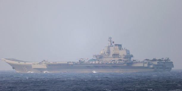 Un navire de guerre americain traverse le detroit de taiwan[reuters.com]