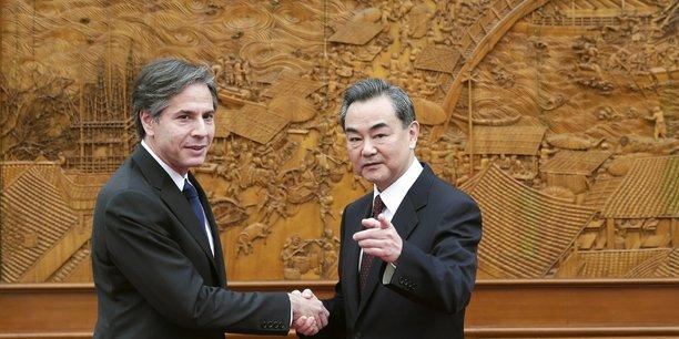 Les etats-unis et la chine discutent d'une eventuelle rencontre entre blinken et son homologue chinois, selon le financial times[reuters.com]