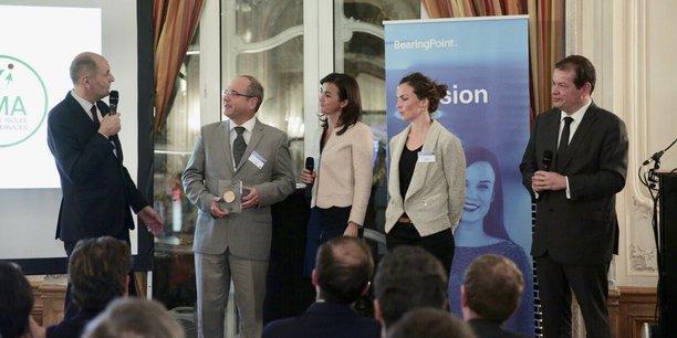 Lors de l'édition 2019 des Trophées du Développement International.