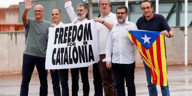 Espagne: les separatistes catalans gracies veulent toujours l'independance[reuters.com]