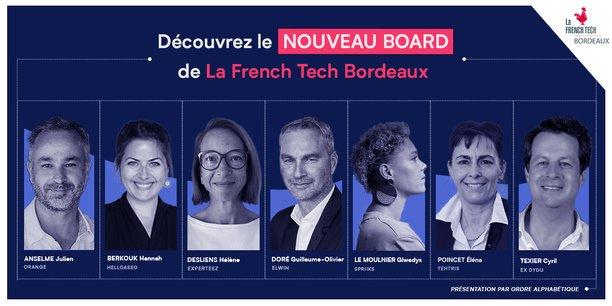 Trois sortants sont réélus aux côtés de quatre nouveaux profils au conseil d'administration de French Tech Bordeaux.
