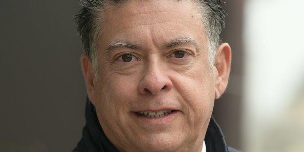 Le président du Medef Île-de-France Daniel Weizmann.