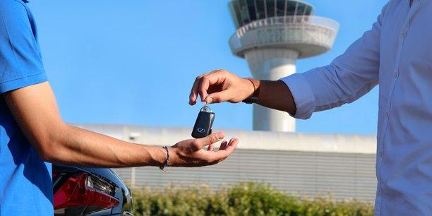 Blue Valet teste à Bordeaux une version low-cost de son service de stationnement à proximité de l'aéroport.