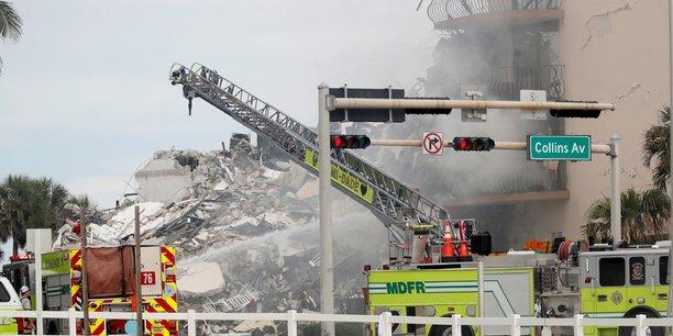 Miami: pres de 100 personnes disparues dans l'effondrement d'un immeuble[reuters.com]